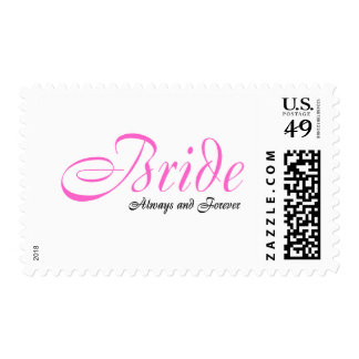 Bride , Always and Forever Postage