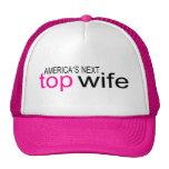 Bride Americas Next Top Wife Mesh Hats
