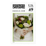 Bride and Bouquet (1) [CUSTOMIZE] Stamps