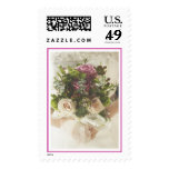 Bride and Bouquet (2) [CUSTOMIZE] Postage Stamps
