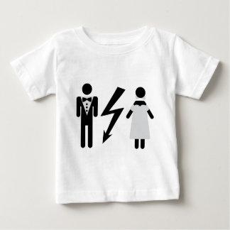 bride and bridegroom icon baby T-Shirt