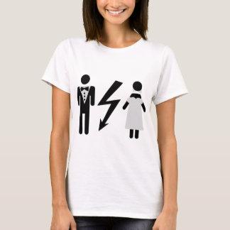 bride and bridegroom icon T-Shirt