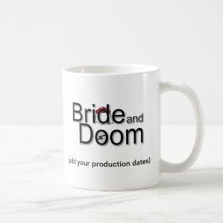 Bride and Doom Photo Memento Mug