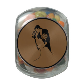 Bride and Groom 01 BSCF Glass Jar