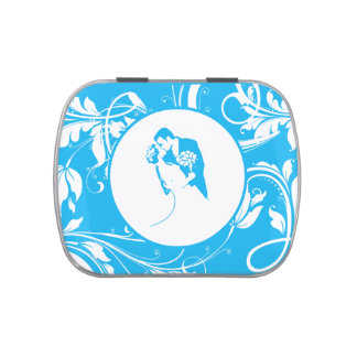 Bride and Groom 01 LBWRP Jelly Belly Candy Tin