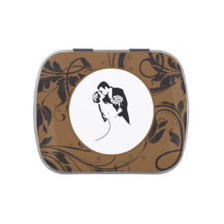 Bride and Groom 01 SBRP Jelly Belly Candy Tin