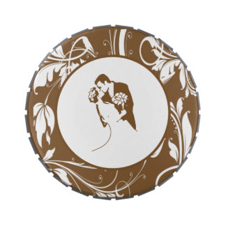Bride and Groom 01 SWCP Jelly Belly Tin