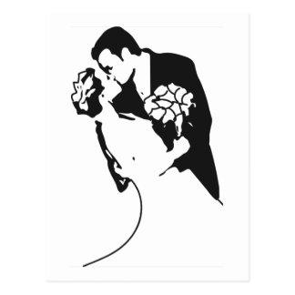 Bride and Groom 1 Postcard