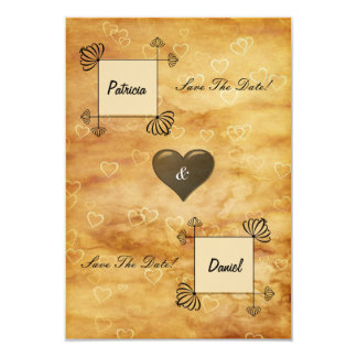 Bride and Groom Boxes, Scroll work on Hearts Card