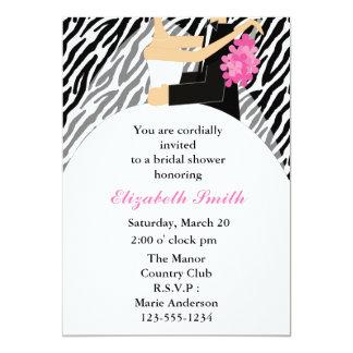 Bride and Groom Bridal Shower Invitations
