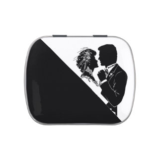 BRIDE AND GROOM-CANDY TIN JELLY BELLY CANDY TINS