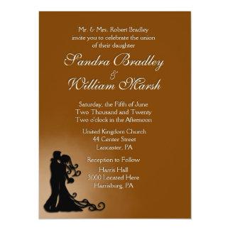 Bride and Groom Chocolate Card