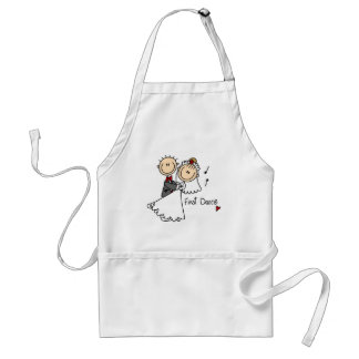 Bride and Groom First Dance T-shirts and gifts Apron