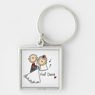 Bride and Groom First Dance T-shirts and gifts Key Chains