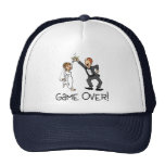 Bride and Groom Game Over Hats