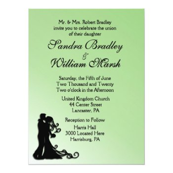Bride and Groom Green Card