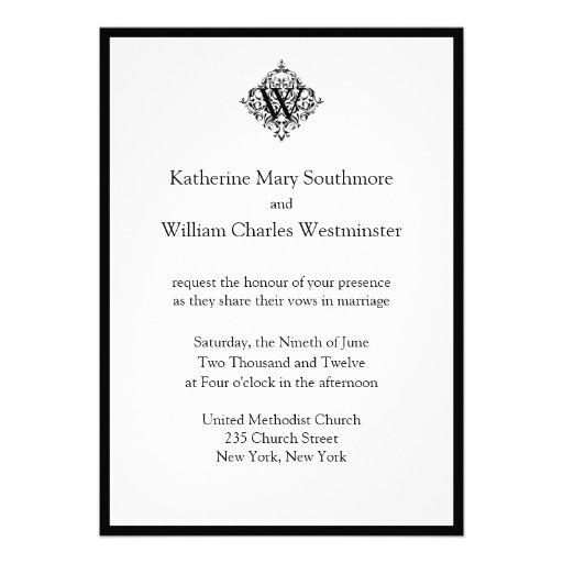 Bride And Groom Inviting Wedding Invitations 5 X 7 Invitation Card