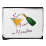 Bride and Groom Just Married Wallets
