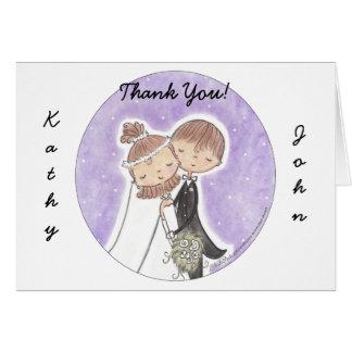 Bride and Groom Kids Cards