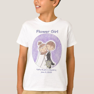 Bride and Groom Kids T-Shirt