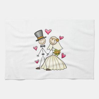 Bride and Groom Kitchen Towel