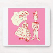 Bride and Groom Mouse Pad