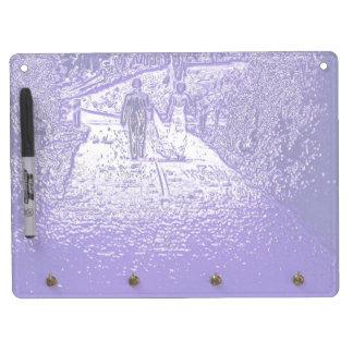 Bride and Groom Newlyweds Dry Erase Board