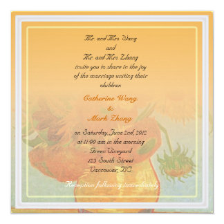Bride and groom parents'  invitation, wedding personalized announcements