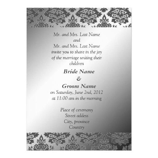 488 Bride And Groom Parents Wedding Invitations Bride And Groom Parents Wedding Announcements
