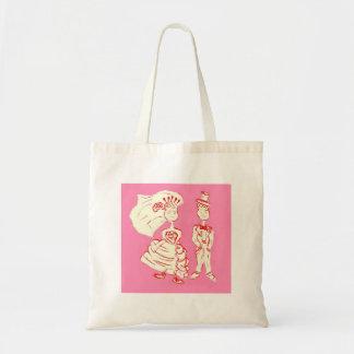 Bride and Groom Pop Art Tote Bag
