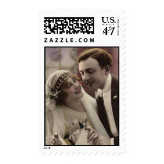 Bride and Groom Postage