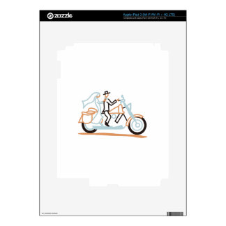 Bride and Groom iPad 3 Skin