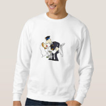 Bride and Groom Sweatshirt
