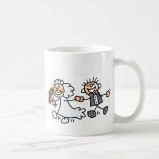 Bride And Groom Wedding Elope Elopement Coffee Mug