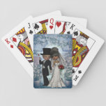 """Bride and Groom Wedding Playing Cards<br><div class=""""desc"""">Bride and Groom Wedding Playing Cards</div>"""