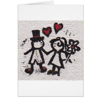 Bride and Grrom 2 Card