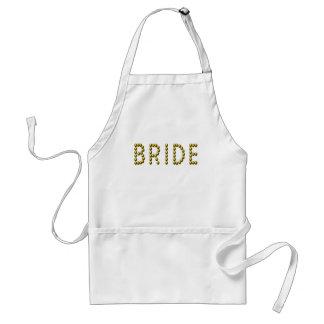 Bride Apron