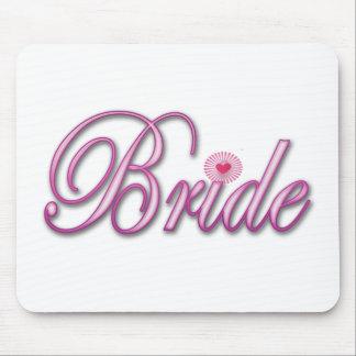 Bride Bachelorette Party Wedding bridal brides Mouse Pad