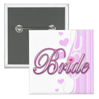 bride bachelorette wedding bridal shower party pins