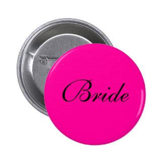 Bride Badge Pinback Buttons