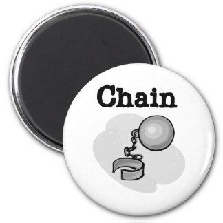 Bride Ball and Chain Tshirts and Gifts 2 Inch Round Magnet