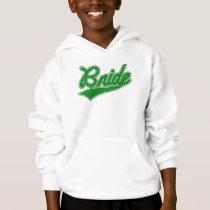 Bride (Baseball Script Green) Hoodie
