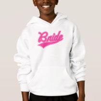 Bride (Baseball Script Pink) Hoodie