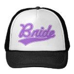 Bride (Baseball Script Purple) Trucker Hat
