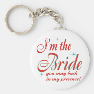bride-bask in presence keychain