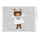 bride bear card