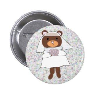 bride bear pin