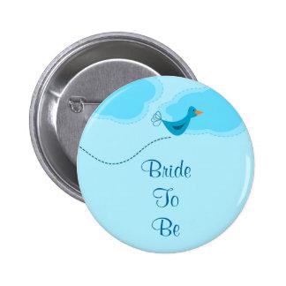 Bride Bird Button