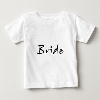 bride black infant t-shirt