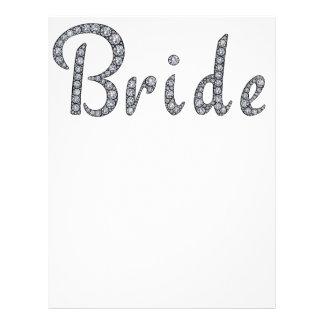 Bride bling letterhead